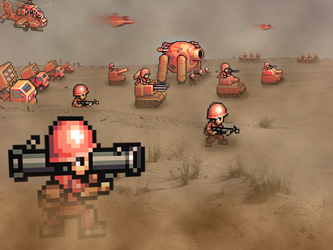 Retro War 'Advance Wars' by RETROnoob