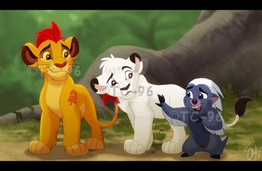 The Lion King - The Visiting Prince by TC-96