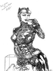 Catwoman 35 years congrats by toegar