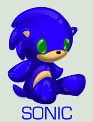 Plushie Collection: Sonic by Omnicenos