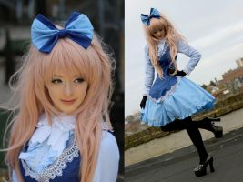 Classic Lolita in blue (Fruit Salad) by Hollitaima