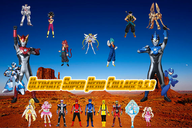 Ultimate Super Hero Collage 9.5.3 by TriadSentuary