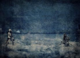 Guerriers Dans La Brume by elliptyk