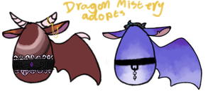 Dragon Mistery Adopts { closed } by HaHabinger
