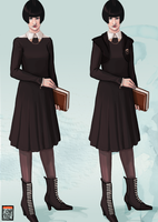 The Abhorsen Project - School Uniform by FionaCreates