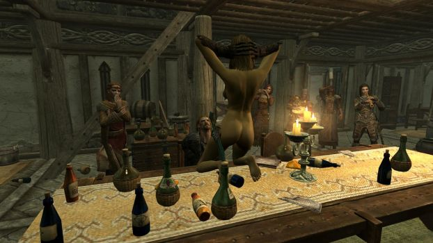 Party at the Dovahkiin. Part 8. Diplomacy by totalfreak2002