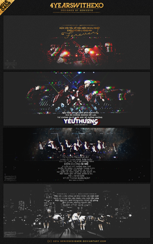 PACK QUOTES // 4 YEARS WITH EXO. by GenieDyo