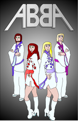 ABBA by MidnightInMoscow