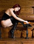Shoe Shine Girl by slephoto