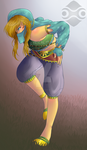 Gerudo Link by lyricalmime