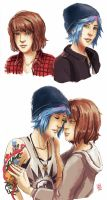Life Is Strange - Max and Chloe by Maarika
