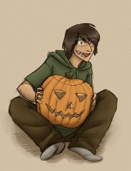Call me Pumpkinface by Senav