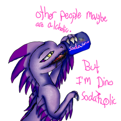 I'm a dino Sodaoholic by AngelCnderDream14