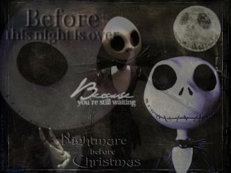 Nightmare before Christmas by bloodyblue
