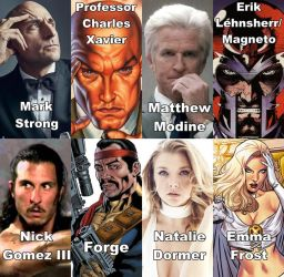 X Men Fancast Pt4 By Deviantman523 On Deviantart
