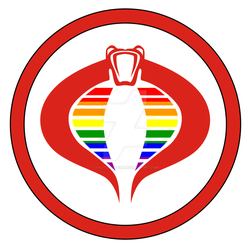 Cobra LGBT Branch Logo by Yautja-Steve