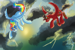 Forming the Perfect Storm by Downpourpony