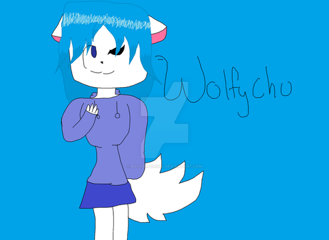 Wolfchu by Boo0Supergirl