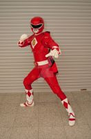 The Mighty Red Ranger by AkraruPhotography