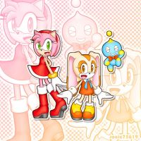 Amy and Cream and Cheese by sonic75619