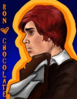 Ron loves Chocolate by StuckInThe90s