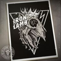 Iron Lamb by DeadInsideGraphics