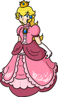Princess Peach redone by AliasMouse