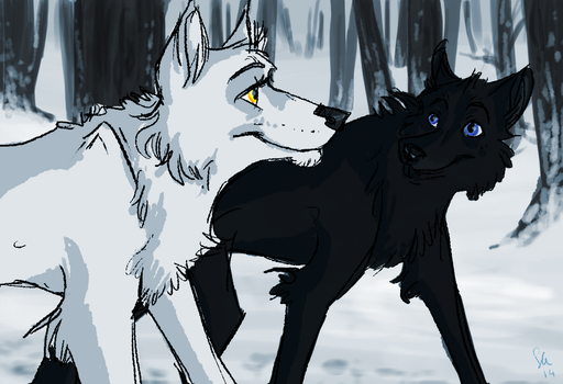 Moira and Cian by Selsea012