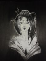 Geisha by PrincessTeppelin