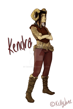 Kendra of the Empire by tricneu