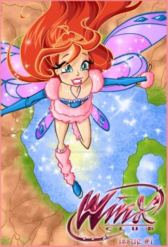 Winx Club Issue 1 Cover by NatalieSaly