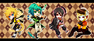 Chibi Collection B by lutherum