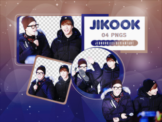 PNG Pack|Jikook #2 (BTS) by jeongukiss