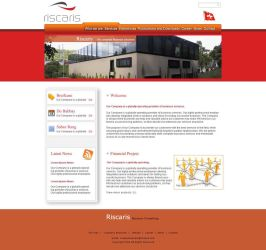Red Web Template. by IMADEEL