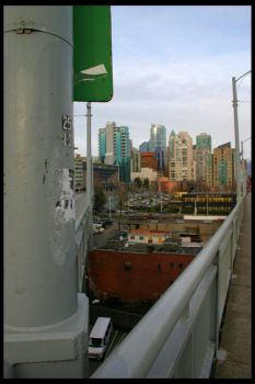 Granville Street Bridge II by Zenith-XO