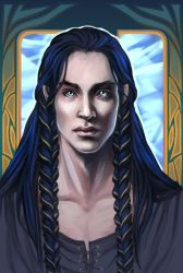 The Tempered Steel cover. Fingon by the-ALEF