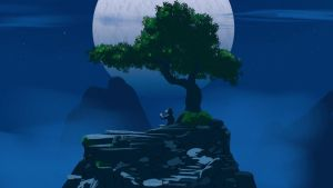 Under the moon by lvlapple