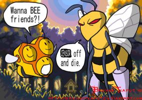 Bees by BrokenTeapot