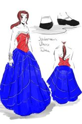 Spiderman Dress Idea by tamara-robitille