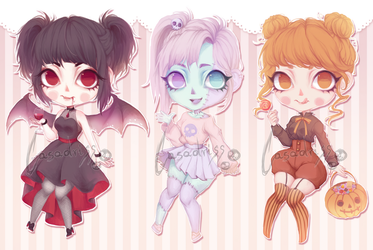+ Halloween Adopts [CLOSED] + by Casadriss