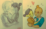 Tintin-old sketch by SAcommeSASSY