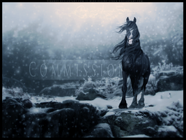 COMMISSION: I'll Be Home For Christmas by endevi