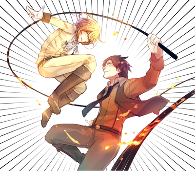 Fire-forged brothers by Cioccolatodorima