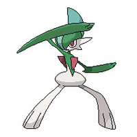 Gallade Pixel Over