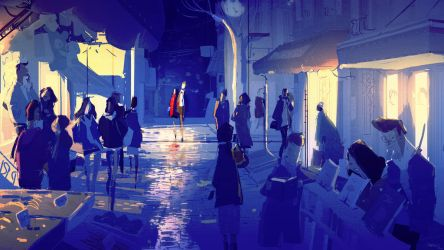 Night Out by PascalCampion