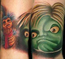 Labyrinth Tattoo by brandonbond