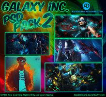 Galaxy Inc. - PSD Pack 2 by AlexDonkers