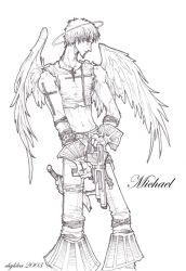 archangels- michael by chyldea