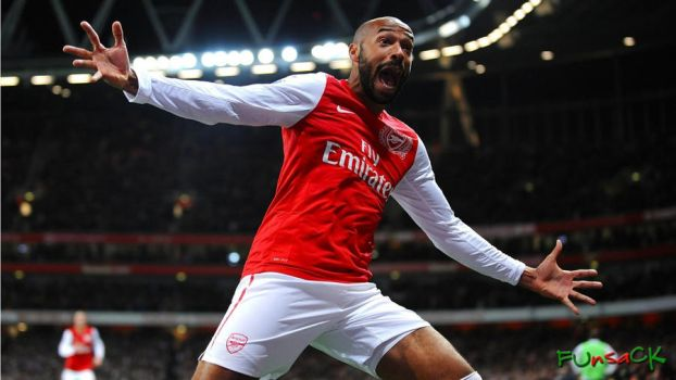Thierry Henry Wallpaper 21 March by maxmk04