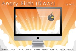 Angry Birds -Black- by Letyi